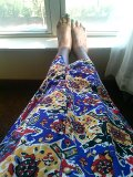 Love my goodwill skirt:)